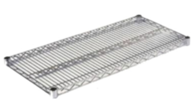 Wire Modular Shelving with many choices of finishs and sizes ...