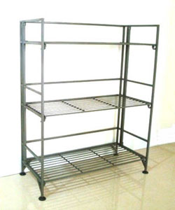 Folding Shelves easy & quicktype folding shelving; house way furniture & wire products