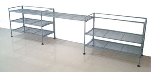 "3 Tier K/D Shelving ""Add-on"" in Horizontal"
