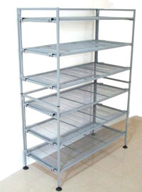 "3 Tier K/D Shelving ""Add -on"" in Vertical"
