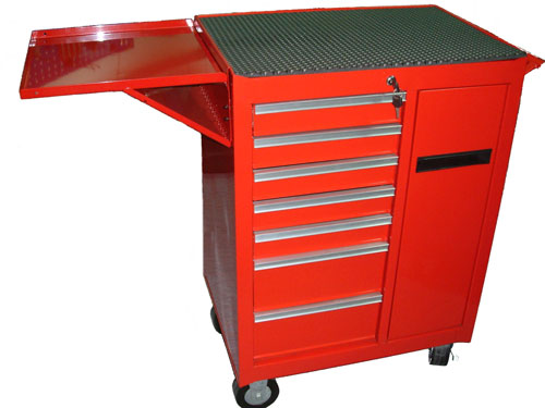 Eight Drawer Professional Roller Cabinet with Expansive Drawer ...