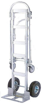 2 in 1 aluminum hand truck house way furniture wire for Furniture hand truck